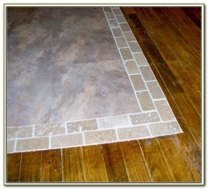 Tile To Wood Floor Transition Curved