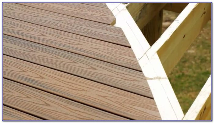 Trex Decking Installation Tips