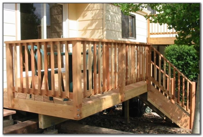 Types Of Deck Railing Materials