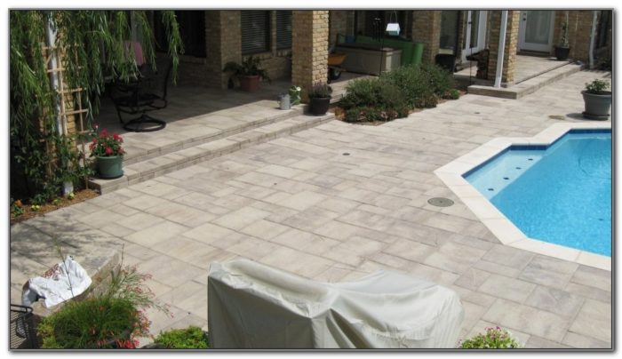 Types Of Pool Deck Pavers