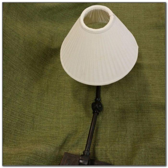 Wall Mount Double Swing Arm Lamp