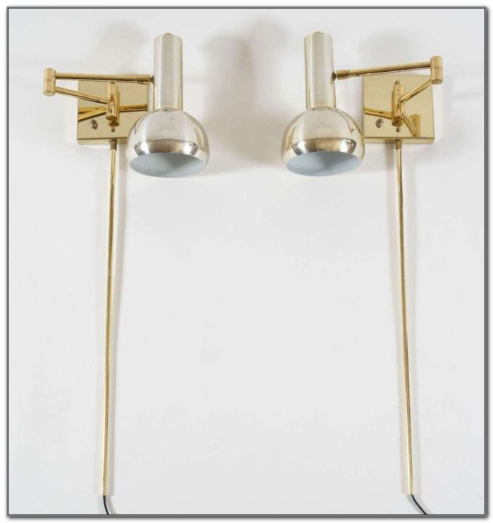 Wall Mount Swing Arm Reading Lamps