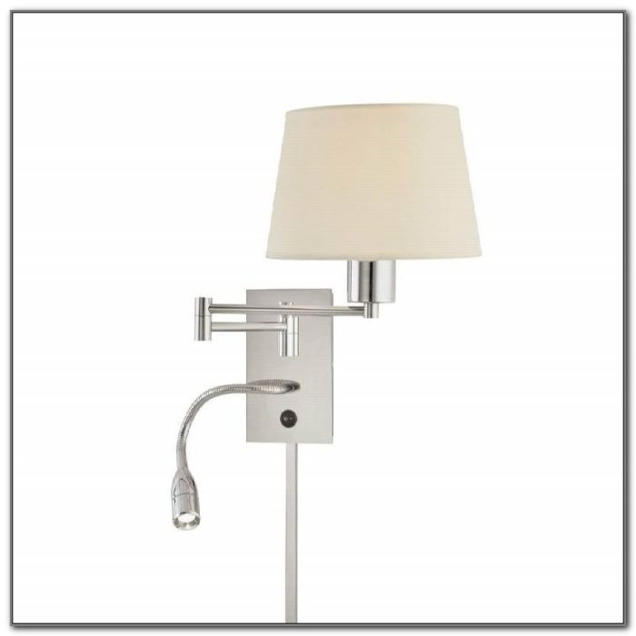 Wall Mounted Swing Arm Reading Lamps