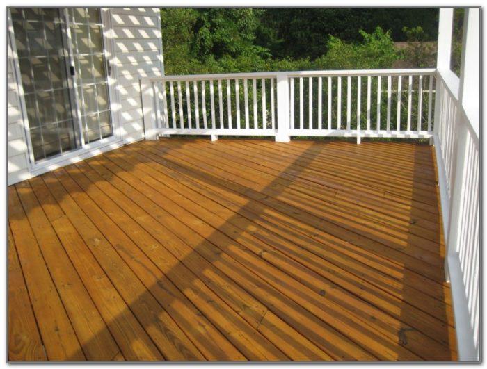 Wood Deck Color Ideas