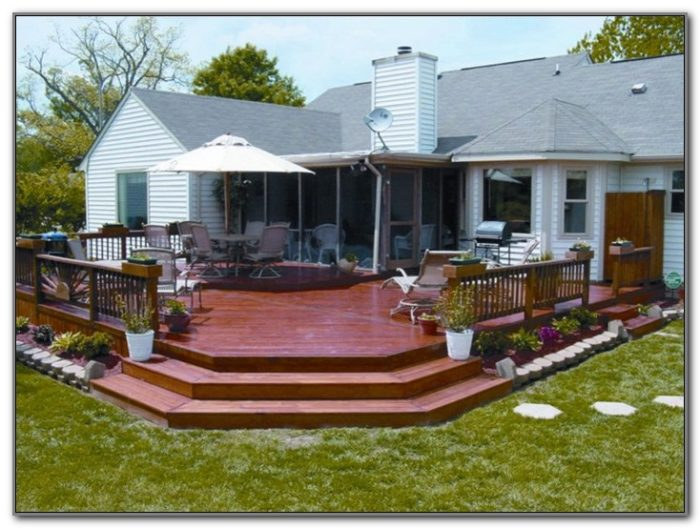Wood Deck Design Images