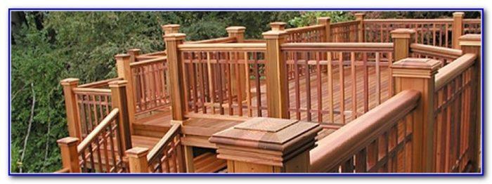 Wood Deck Railing Details