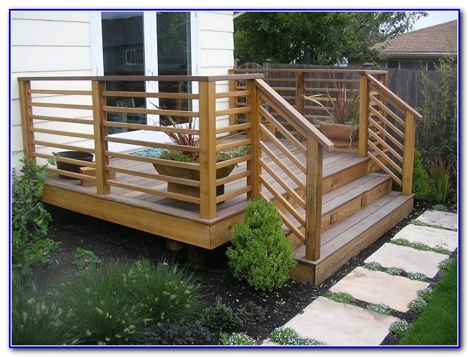 Wood Deck Railings Ideas