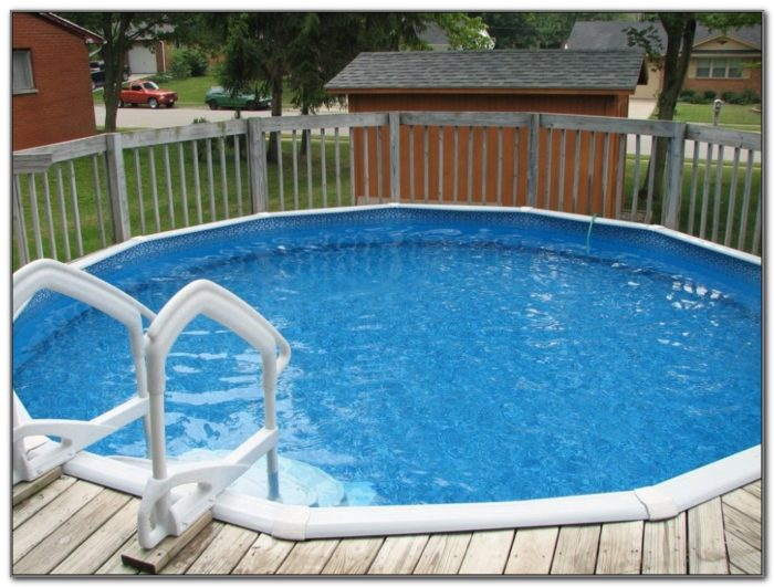 Wood Swimming Pool Deck Kits