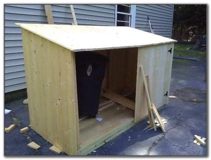 Wooden Outdoor Storage Box Plans