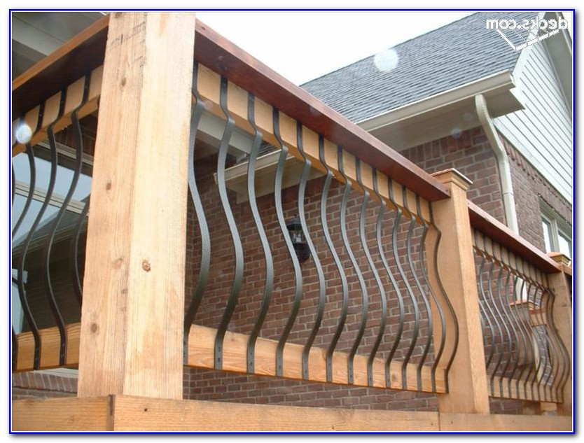Wrought Iron Deck Railing Ideas