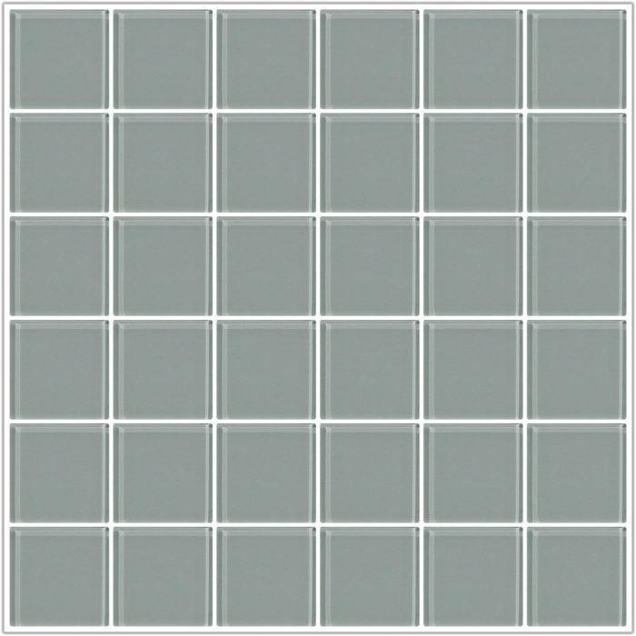 1 Inch Clear Glass Tile Squares