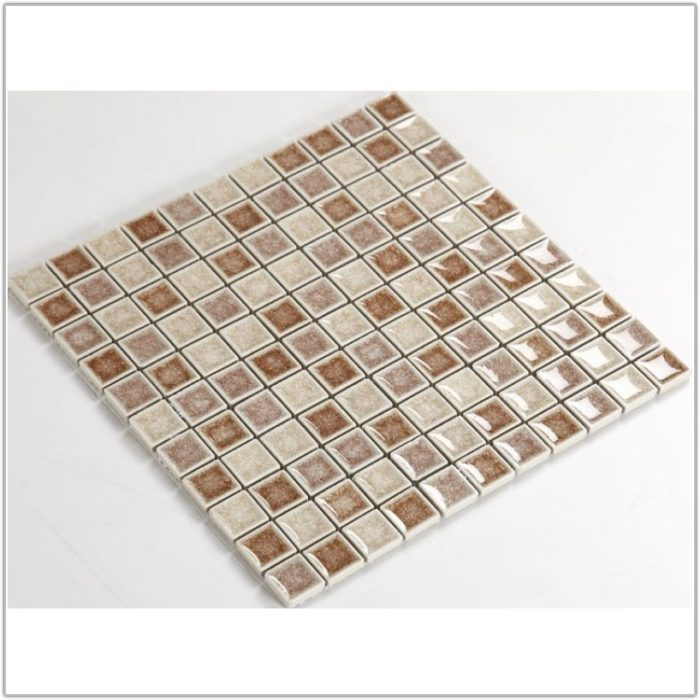 1 Inch Glass Tile Backsplash