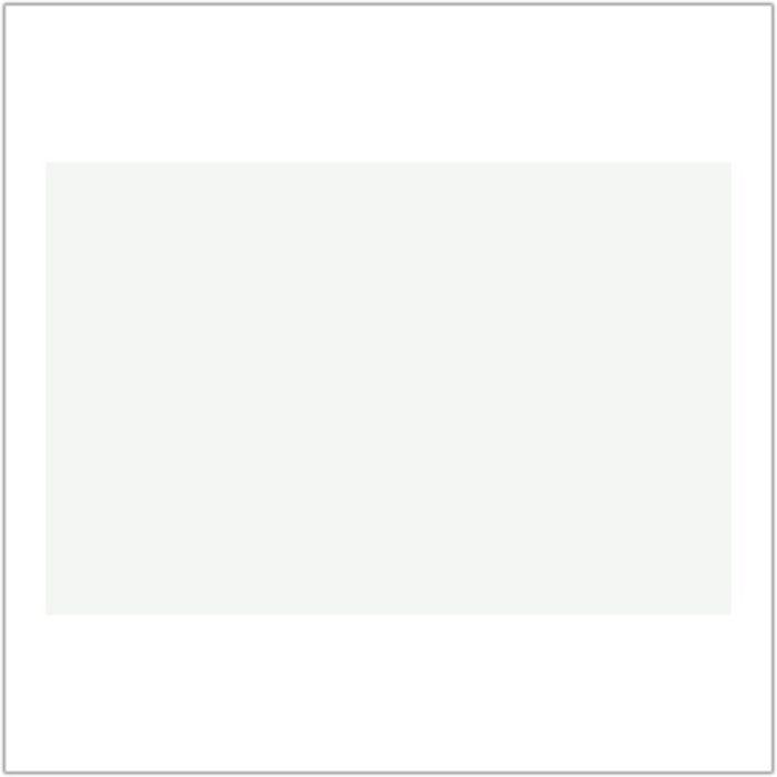 1 X 6 White Ceramic Tile