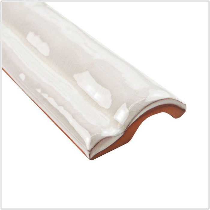 2 X 6 Ceramic Tile White