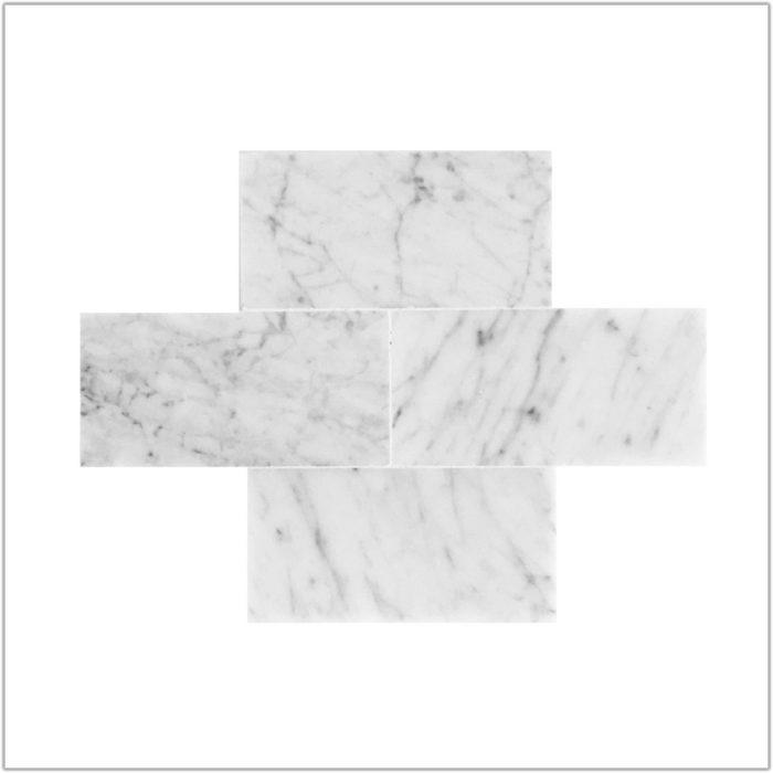 3 X 6 Carrara Marble Tile