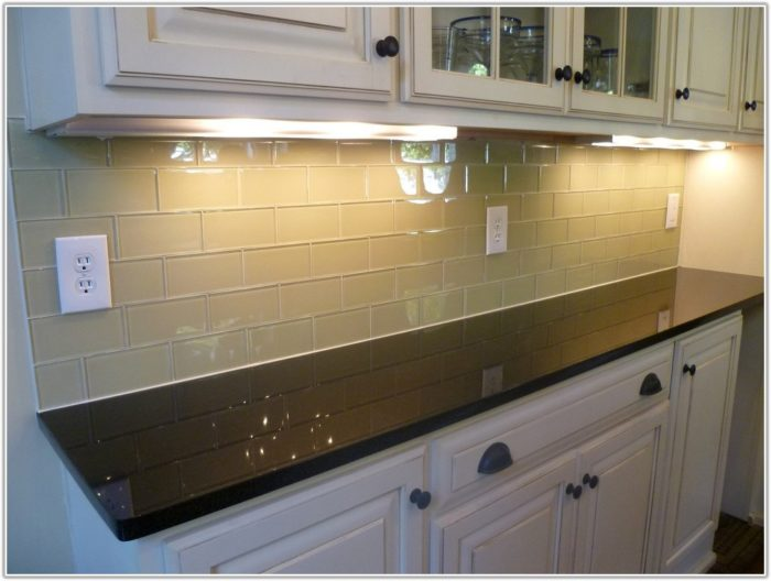 3 X 6 Subway Tile Kitchen Backsplash