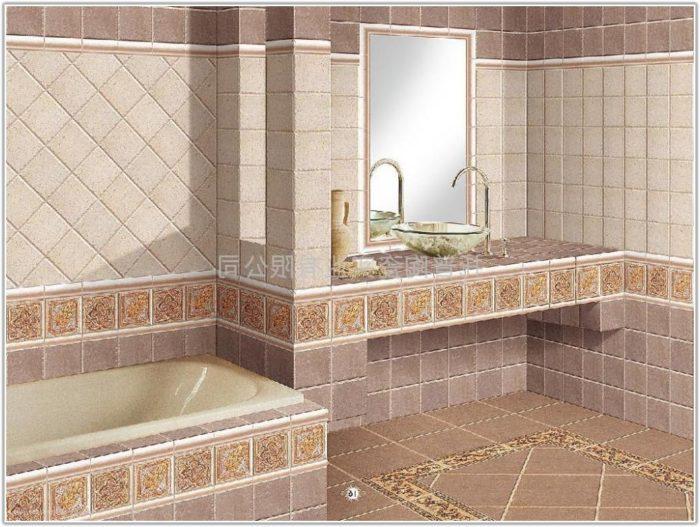 Bathroom Floor And Wall Tile Designs