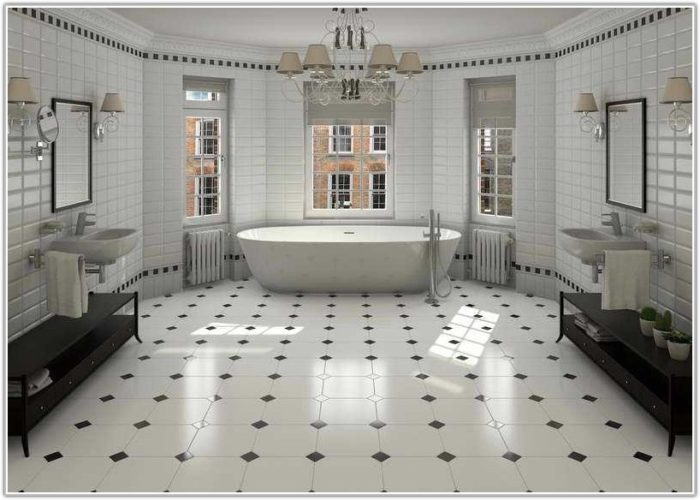 Bathroom Floor Ceramic Tile Designs