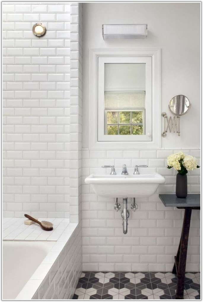 Bathroom Ideas White Subway Tile
