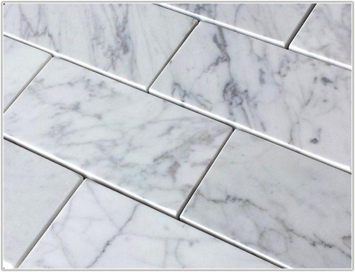Bianco Carrara Marble Subway Tile