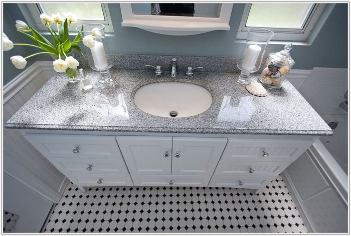 Black And White Bathroom Tile Floor
