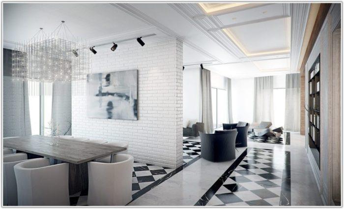 Black And White Floor Tile Designs