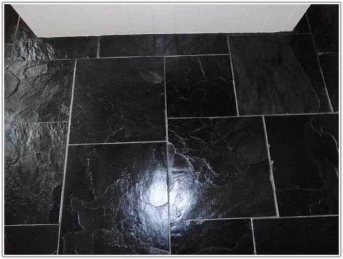 Black Slate Floor Tiles 300 X 300