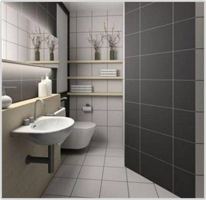 Blue Tiles For Bathroom Floor
