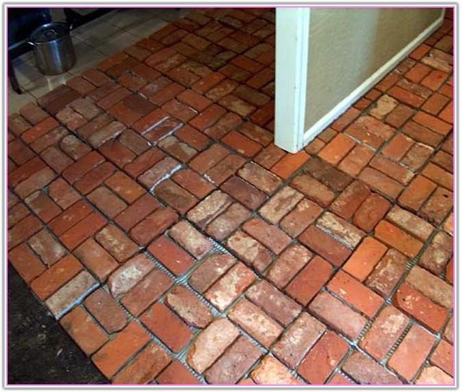 Brick Floor Tile Home Depot