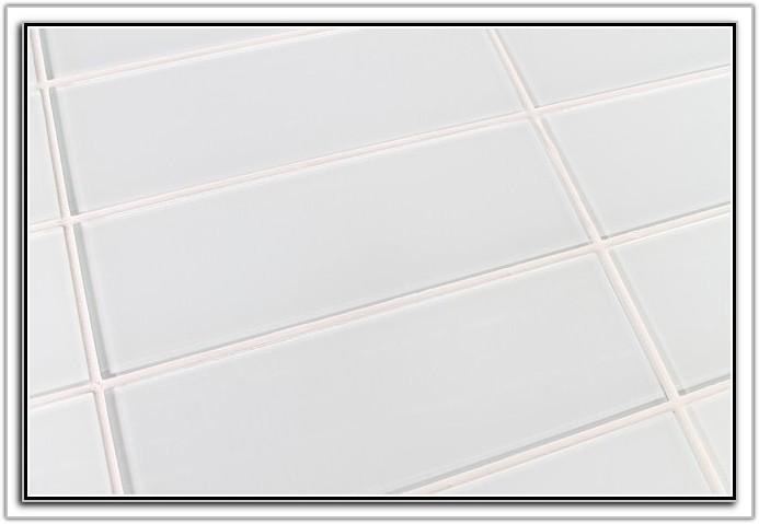 Bright Snow White Subway Tile
