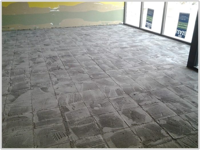 Carpet Tiles On Concrete Slab