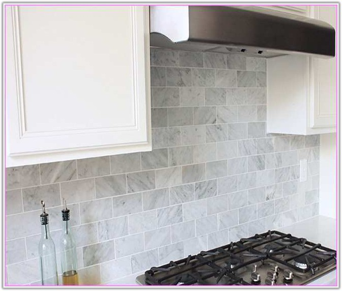 Carrara Marble Subway Tile Home Depot