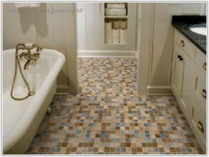 Cheap Bathroom Floor Tile Ideas