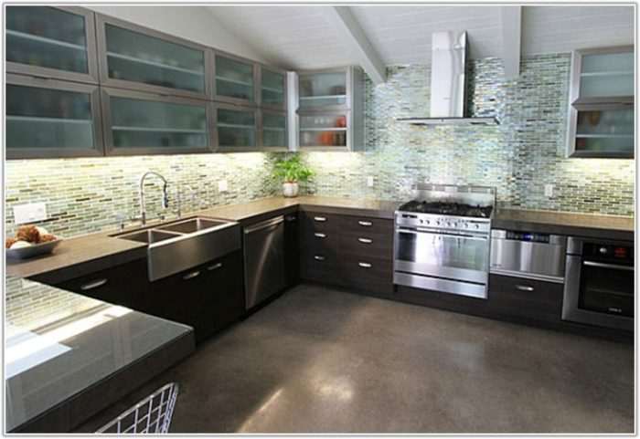 Country Style Kitchen Floor Tiles