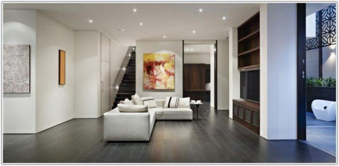 Dark Floor Tiles Living Room
