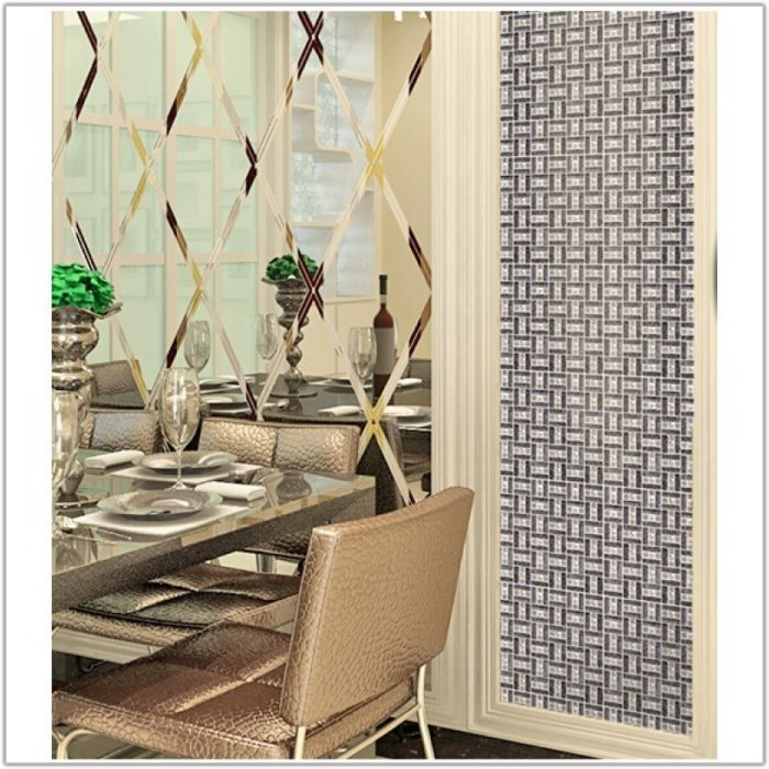 Diamond Mirror Crystal Glass Mosaic Tile