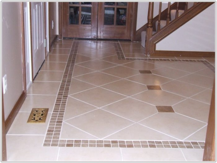 Floor Tile Designs For Entryway