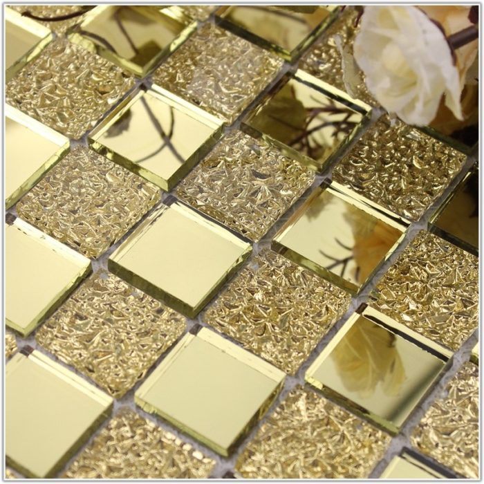 Glass Mirror Mosaic Tile Backsplash