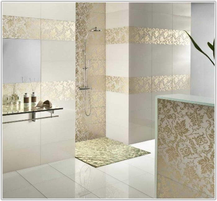 Glass Mosaic Tile Bathroom Ideas