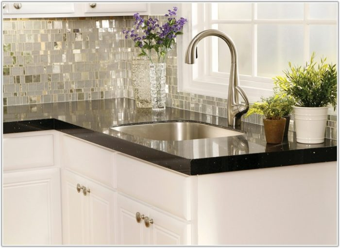 Glass Mosaic Tile Kitchen Backsplash Ideas
