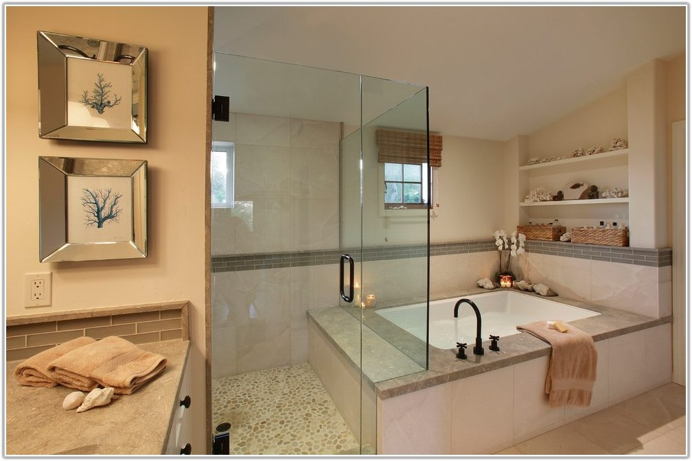 Glass Tile Bathroom Mirror Frame