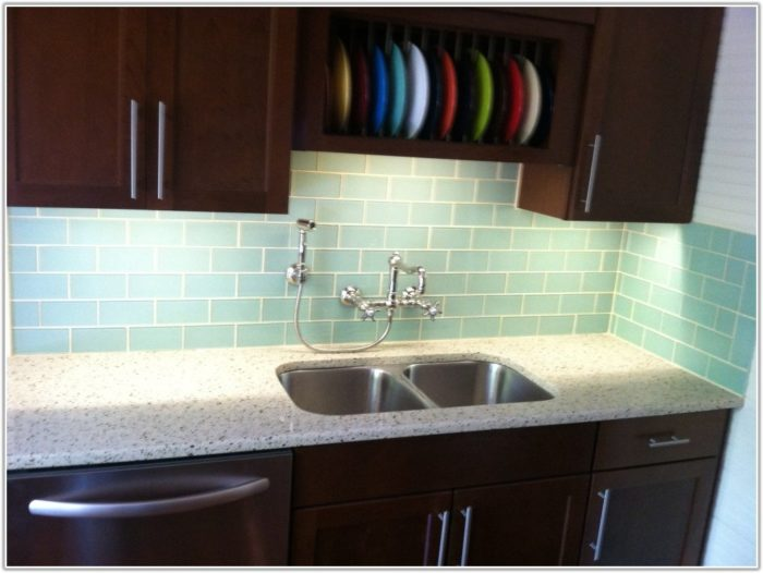 Glass Tile For Backsplash In Kitchen