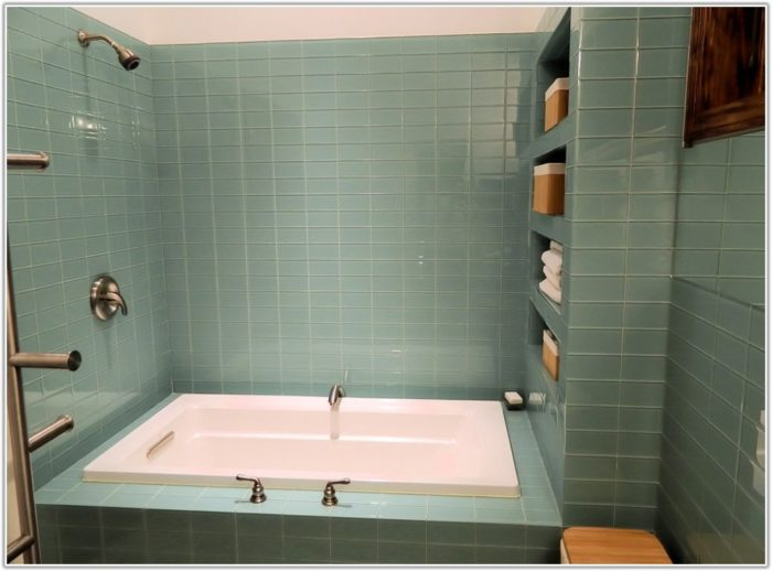 Glass Tile Ideas For Small Bathrooms