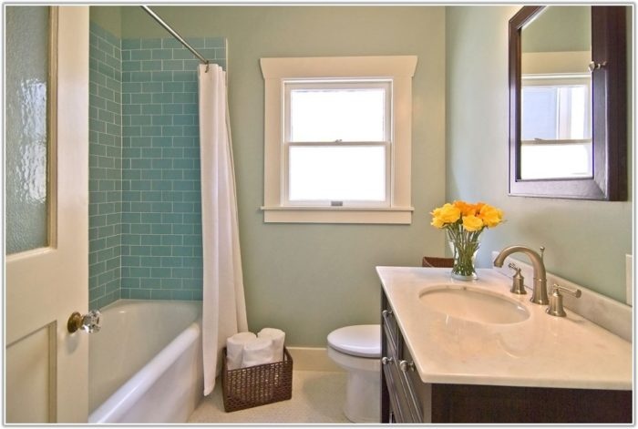Glass Tile In Bathroom Ideas