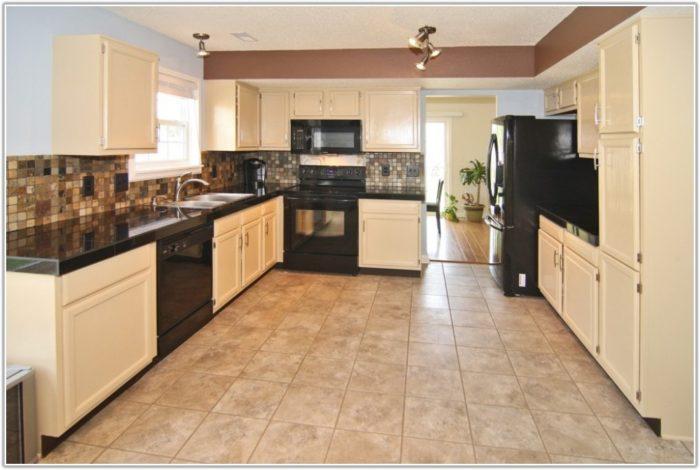 Gloss Grey Kitchen Floor Tiles