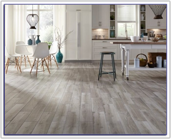 Gray Floor Tile That Looks Like Wood