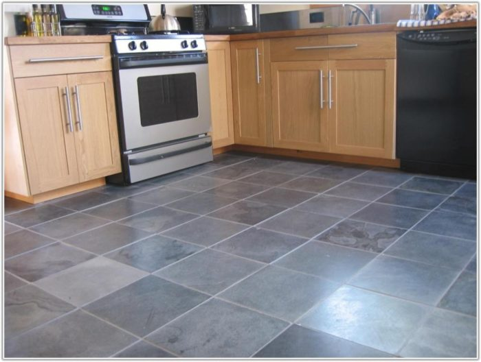 Grey Floor Tiles For Kitchen