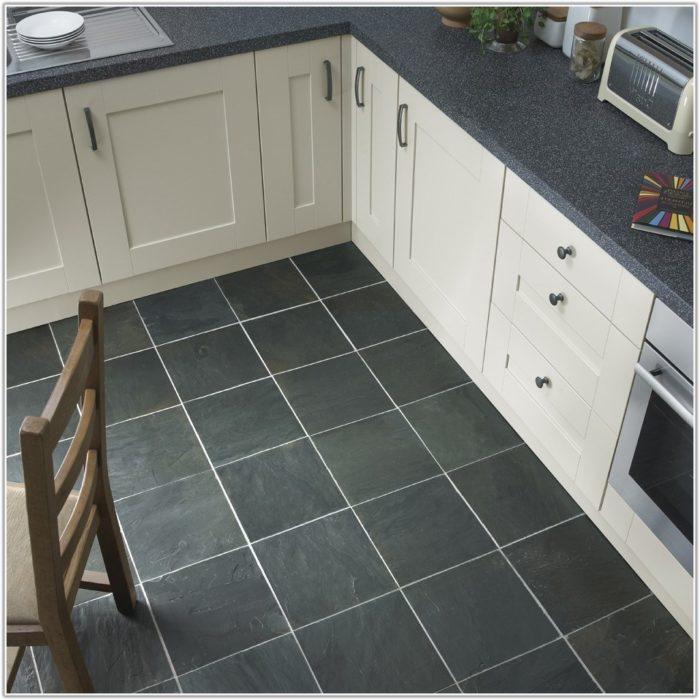 Grey Green Slate Floor Tiles