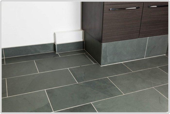 Grey Slate Bathroom Floor Tiles