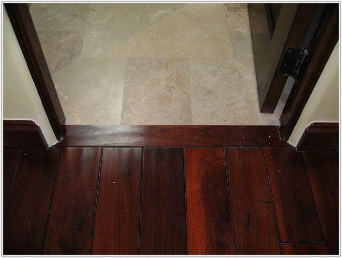 Hardwood Floor Ceramic Tile Transition